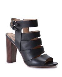 Splendid - Black Janna Heeled Gladiator Sandals - Lyst