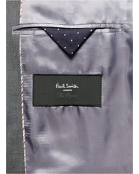 Paul Smith - Gray Slim Fit Wool-mohair Suit for Men - Lyst