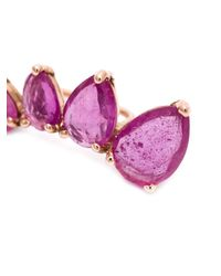 Jacquie Aiche | Pink Ruby Ear Cuff | Lyst