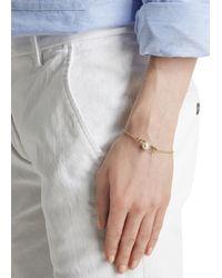 Vivienne Westwood - Metallic Jordan Safety Pin Gold Plated Bracelet - Lyst
