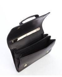 Valentino - Black Leather Va Va Voom Convertible Shoulder Bag - Lyst