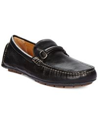 Johnston & Murphy | Black Harman Bit Drivers for Men | Lyst