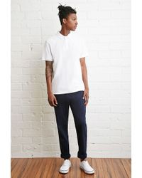 Forever 21 | Blue School Uniform Chinos for Men | Lyst