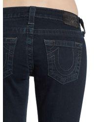True Religion - Blue Stella Studded Skinny Jeans - Lyst