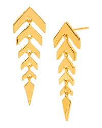 Gorjana | Metallic 'zorah' Drop Earrings | Lyst