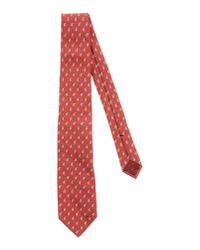 Gucci | Red Tie for Men | Lyst