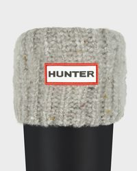 Hunter   Gray Granite Fleck Boot Socks   Lyst