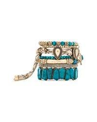 Samantha Wills - Green Southern Sun Bracelet Set - Turquoise - Lyst
