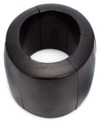 Monies - Black Sectional Bracelet - Lyst