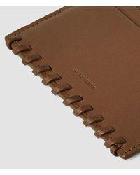 AllSaints | Brown Fleur De Lis Multicard Case Usa Usa | Lyst