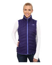 The North Face | Blue Mossbud Swirl Reversible Vest | Lyst