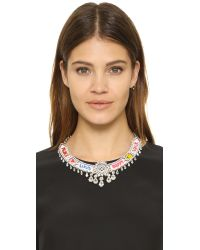Shourouk - Blue Happy Multi Necklace - Lyst