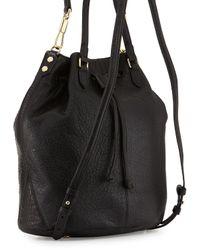 Elizabeth and James | Black Cynnie Leather Sling Bag | Lyst