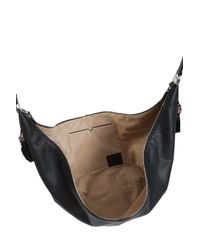 The Row - Black Leather Sling Bag - Lyst