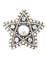 Lanvin | Metallic Star Ring | Lyst