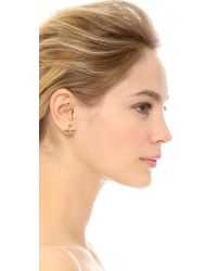 Vivienne Westwood - Metallic Solid Orb Earrings - Gold - Lyst