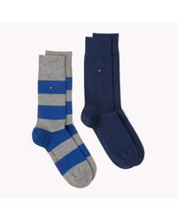 Tommy Hilfiger | Multicolor 2-pack Rugby Socks for Men | Lyst