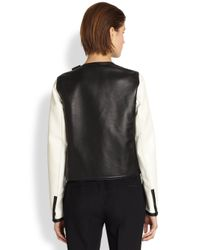 Fendi - Multicolor Interccio Pattern Leather Jacket - Lyst