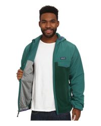 Patagonia | Green Shelled Synch Snap-t Hoodie for Men | Lyst