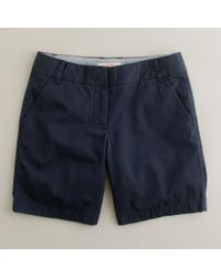 "J.Crew | Blue 7"" Chino Short 
