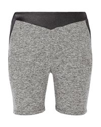 Live The Process - Gray Tuxedo Stretch-Jersey Shorts - Lyst