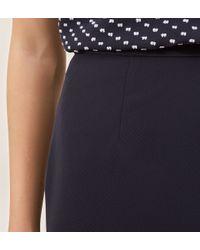 Hobbs   Blue Gabi Skirt   Lyst