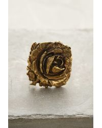 Alkemie - Metallic Wild Rose Ring - Lyst