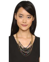 Erickson Beamon - Metallic Hyperdrive Layered Necklace - Lyst