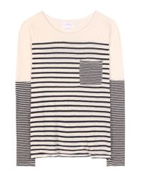 Velvet - Black Ario Striped Top - Lyst