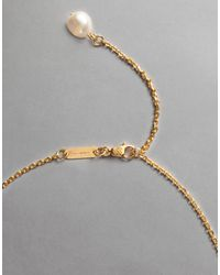 Dolce & Gabbana | Metallic Gold-plated Metal Necklace | Lyst