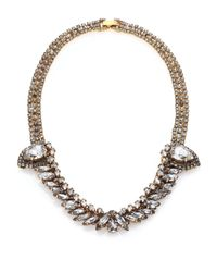 Erickson Beamon | Metallic Young & Innocent Crystal Collar Necklace | Lyst