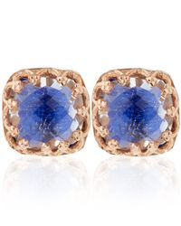 Larkspur & Hawk | Blue Small Cobalt Topaz Jane Stud Earrings | Lyst