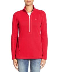 Tommy Bahama - Red 'aruba' Full Zip Sweatshirt - Lyst