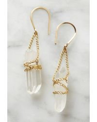 Forever 21 - Multicolor By Boe Wrapped Quartz Earrings - Lyst