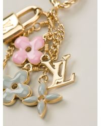 Louis Vuitton - Metallic Charm Pendant - Lyst