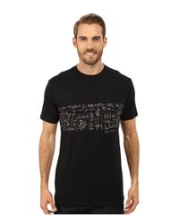 Jack O'neill | Black Fishtales Short Sleeve Screen Tee for Men | Lyst