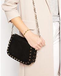 Stella & Bow | Metallic Elizabeth Square Cuff Bracelet | Lyst