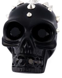 Alexander McQueen | Black Skull Pendant Necklace for Men | Lyst