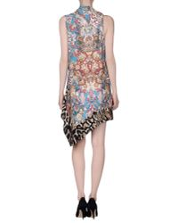 Just Cavalli - Multicolor Short Dress - Lyst