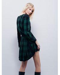 Free People | Green New Romantics Journey Dress | Lyst
