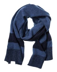 Banana Republic | Blue Todd & Duncan Stripe Cashmere Scarf for Men | Lyst