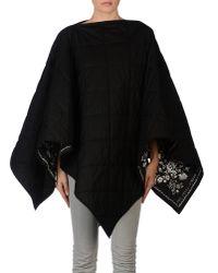 MM6 by Maison Martin Margiela - Black Cloak - Lyst