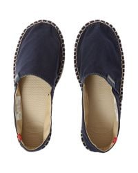 Havaianas | Blue Canvas Espadrille for Men | Lyst