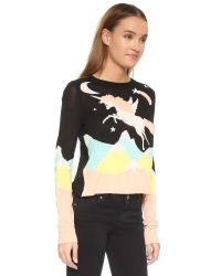 Wildfox - Multicolor Land Faraway Opal Sweater - Lyst