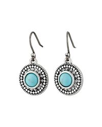 Lucky Brand | Blue Turquoise Drop Earrings | Lyst