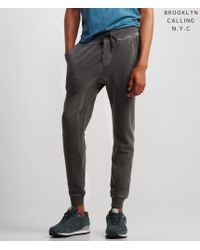 Brooklyn Calling | Gray Lunar Dye Jogger Sweatpants | Lyst