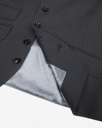 Ted Baker - Gray Sterling Wool Suit Waistcoat for Men - Lyst