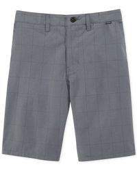Hurley - Blue Hatchet Plaid Chino Shorts for Men - Lyst