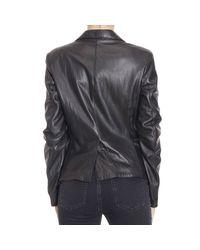 Manila Grace - Black Jackets - Lyst