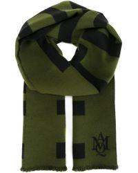 Alexander McQueen - Green Truth Knit Scarf - Lyst
